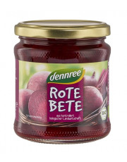 dennree, Rote Bete, 330g Glas