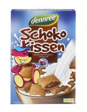 dennree, Schokokissen mit Schweizer Bio Schokolade, 375g Packung