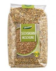 dennree, Sechskorn-Getreidemischung, 1kg Packung