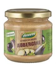 dennree, Streichcreme Aubergine, 180g Glas