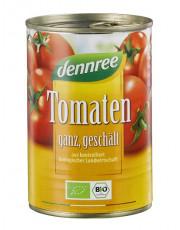 dennree, Tomaten geschält in Tomatensaft, 400g Dose