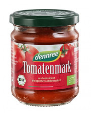 dennree, Tomatenmark, 200g Glas
