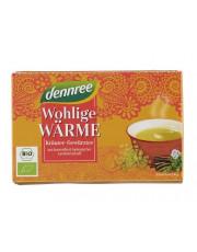 dennree, Wohlige Wärme, Kräuter-Gewürztee, 40g, 20Btl Packung