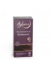 Ayluna, Haarfarbe Bordeauxrot, 100g Packung