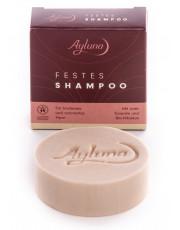 Ayluna, Festes Shampoo für trockenes Haar, 60g Stück