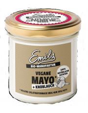 Emils, Vegane Mayo + Knoblauch, ohne Ei, 125gl Glas