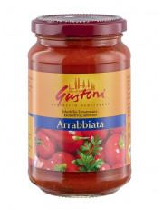 Gustoni, Arrabbiata, Scharfe Tomatensauce, 350g Glas
