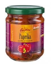 Gustoni, gegrillte Paprika in Kräuteröl, 190gr Glas