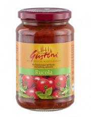 Gustoni, Rucola, Tomatensauce mit Rucola, 350g Glas