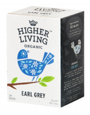 Higher Living, Earl Grey, 45g, 20 Btl. Packung