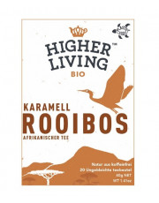 Higher Living, Rooibos Karamell, 40g, 20 Btl. Packung