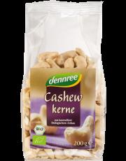 dennree, Cashewkerne, 200g Packung