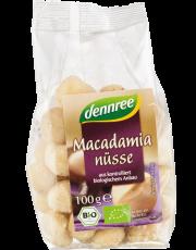 dennree, Macadamia-Nüsse, 100g Packung