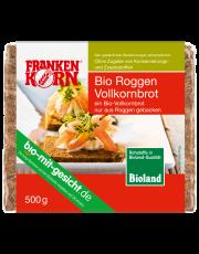FrankenKorn,  Roggenvollkornbrot, geschnitten, 500g Packung