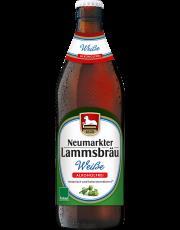 Neumarkter Lammsbräu, Weisse Alkoholfrei, 0,5 l incl. 0,08 € Pfand Flasche