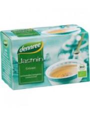 dennree, Jasmin Grüntee, 1,5g, 20Btl. Packung
