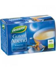 dennree, Guten Abend Tee, 1,5g, 20 Btl Packung