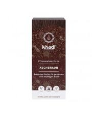 Khadi, Pflanzenhaarfarbe Aschbraun, 100g Packung