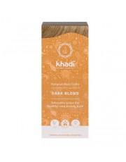 Khadi, Pflanzenhaarfarbe Dunkelblond, 100g Packung