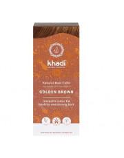 Khadi, Pflanzenhaarfarbe Goldbraun, 100g Packung