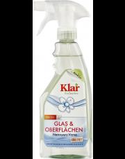AlmaWin Klar, Glas & Oberflächenreiniger mit Sprayer, 500ml Flasche