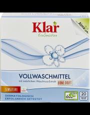 AlmaWin Klar, Vollmaschmittel mit Waschnuss-Extrakt, 1,1 kg Packung