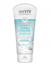 Lavera, basis sensitiv Hydro Feeling Duschgel 2in1, 200ml Tube