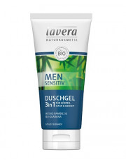 Lavera, Men Sensitiv, Duschgel 3in1, 200ml Tube