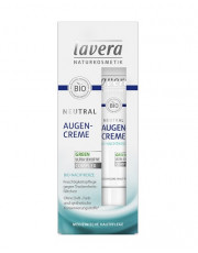 Lavera, Neutral Augencreme mit Bio-Nachtkerze, 15ml