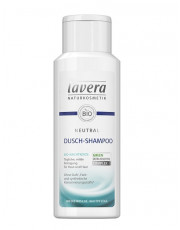 Lavera, Neutral Dusch-Shampoo, mit Bio-Nachtkerze, 200ml Flasche