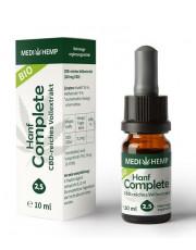 Medi Hemp, Bio Hanf Complete Öl 2,5%, 10ml Flasche