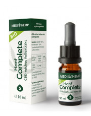 Medi Hemp, Bio Hanf Complete Öl 5%, 10ml Flasche