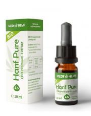 Medi Hemp, Bio Hanf Pure Öl 2,5%, 10ml Flasche