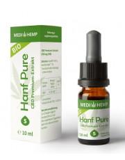 Medi Hemp, Bio Hanf Pure Öl 5%, 10ml Flasche