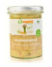 MyDeli, Bio-Hühnerfrikassee, 360g Glas