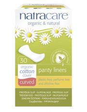 Natracare, Geformte Slipeinlagen, 30 Stück, Packung