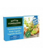 Natur Compagnie, Klare Gemüsebrühe salzarm, 8 Stück Packung