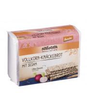 Naturata, Sesam Vollkorn-Knäckebrot, demeter, 250 g Packung