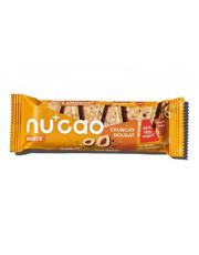 nucao, white Crunchy Nougat, 40g Riegel