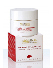 Argand'Or, Arganöl Pflegecreme, trockene Haut, 50ml Tiegel