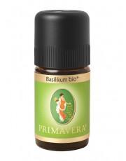 PRIMAVERA Life, Basilikum bio, 5 ml Flasche