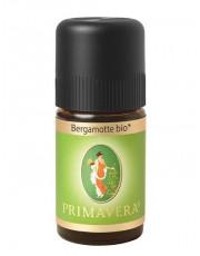PRIMAVERA Life, Bergamotte bio, 5 ml Flasche