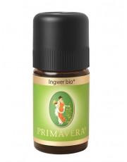 PRIMAVERA Life, Ingwer bio, 5ml Flasche