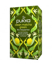 Pukka, Clean Matcha Green, 1,5g, 20 Btl. Packung