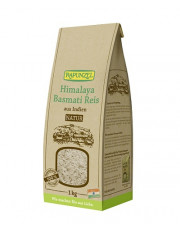 Rapunzel, Himalaya Basmati Reis natur, 1kg Packung