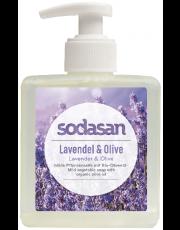 Sodasan, Naturpflege-Seife Liquid, Lavendel-Olive, flüssig, 300ml Flasche
