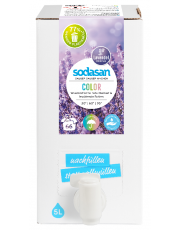 Sodasan, Color-Waschmittel Lavendel Bag-in-Box, 5 ltr Box