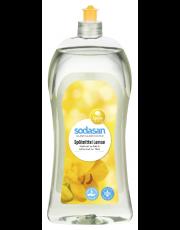 Sodasan, ökologisches Spülmittel Lemon, 1l Flasche