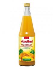 Voelkel, Ananassaft, 0,7 l incl. 0,15 EUR Pfand, Flasche