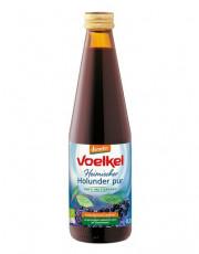 Voelkel, Holunder pur, 100% Muttersaft, 0,33 l incl. 0,15 EUR Pfand, Flasche